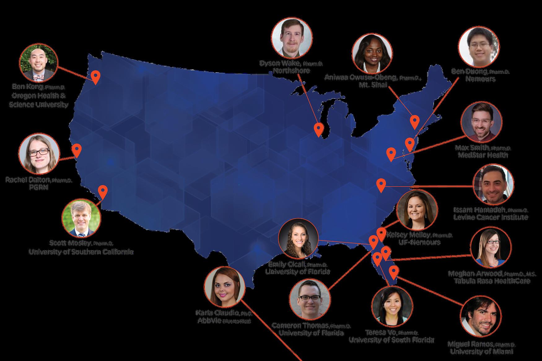 Fellow Map 2020